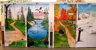 Murals for 4 seasons mural
